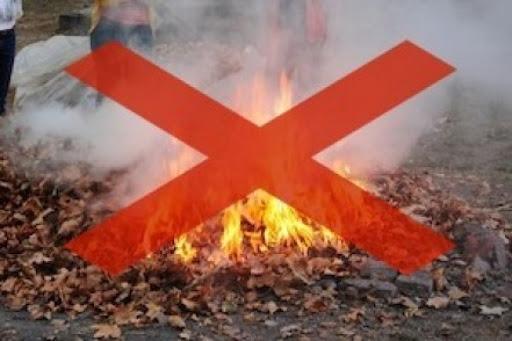 TÁJÉKOZTATÓ az avar és a kerti hulladékok nyílttéri égetésének tilalmáról