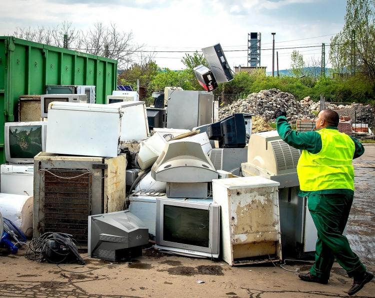 Szombaton elektronikai hulladékgyűjtés