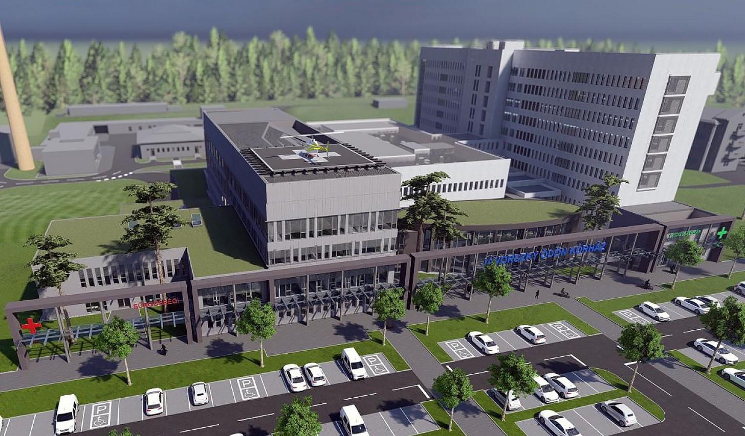 Egyeztetés a kórház új épületeinek terveirõl