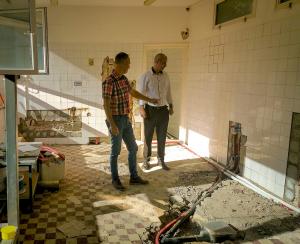 Elkezdődött a Vám utcai ovi konyhájának korszerűsítése